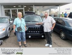 #HappyAnniversary to Beverly Goffus on your 2011 #Jeep #Patriot from Joseph Gettinger at Monroeville Chrysler Jeep!