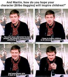 Martin wins all the awards for hilarity.