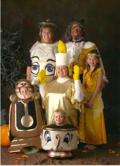 """""""When I was younger, my family and I would have themed Halloween costumes. This year was obviously Beauty and the Beast. Every year, we would get professional photos done of all of us in our costumes and my mother would later scrapbook them. My aunt's Lumière costume was a crowd favorite of course and my [...]"""
