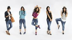 5 WAYS TO WEAR STUDIO DENIM  the perfect punch of style for a Les Mills BODYJAM™ class, your morning coffee run, a night out, or wherever else your day may take you.
