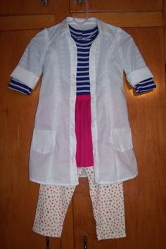 Doc McStuffins Costume Inspiration Looks about right for my Shelby girl!