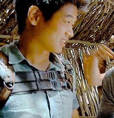 Ki Hong Lee - omg his little face :')