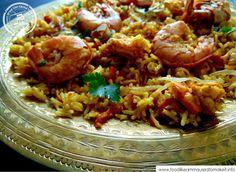 Prawn Biryani Recipe - Food like Amma used to make it
