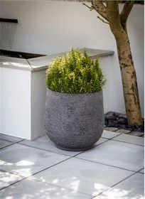 The Longborough Planter Medium is sophisticated in style and fully weatherproof
