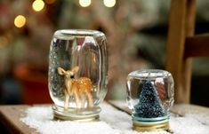 Glass Jar Christmas Crafts - 17 Homemade Inspirations