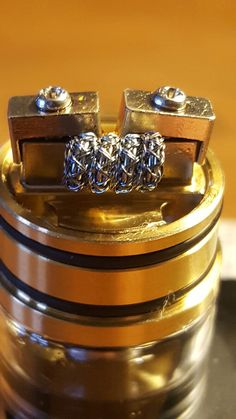 The barb wire coil #chappycoils