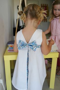 La robe trapèze Betsy - préparation cortège #2 - Chut Charlotte !