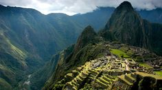 Peru's Machu Picchu is thought to have been a sacred center for the nearby Incan capital of Cusco.