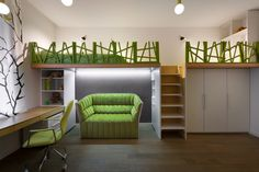 Cube House by Yakusha Design Studio home, kids room in Kids Rooms