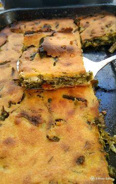 μπλατσαρα Lowest Carb Bread Recipe, Low Carb Bread, Greek Recipes, Vegan Recipes, Cooking Recipes, Spinach Pie, Savory Muffins, Salad Dressing Recipes, Brunch
