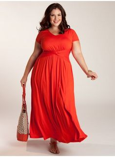 Plus Size Maxi Dress at www.curvaliciousclothes.com #plussize #bbw #fashion