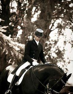 Carl Hester for Kingsland Equestrian ~ Photo: Gunnar Merrild