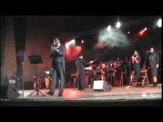 My Way -  LARRY RAY singer & big band  teatro Golden Palermo  -  Sicilia
