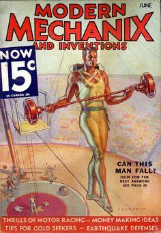 Pulp Cover: Modern Mechanix