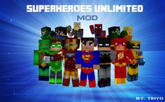 Descargar Superheroes Unlimited Mod para Minecraft 1.6.4/1.6.2/1.5.2