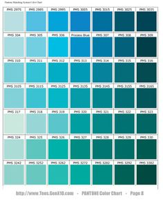 Warm Deco Color Terapia Turquesas Y Aguamarinas Colortherapy Turquoises And Aquamarines