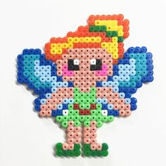 Tinker Bell hama beads by Molly & Selma