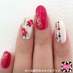 ネイルデザイン人気ランキング|ネイルブック in 2020 Rose Nails, Flower Nails, New Year's Nails, Diy Nails, Sunflower Nail Art, New Years Nail Art, Floral Nail Art, Japanese Nail Art, Manicure Y Pedicure