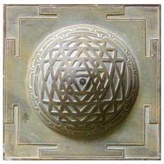 spherical sri yantra