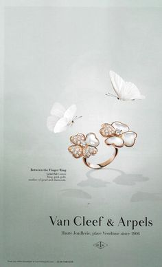 Van Cleef & Arpels Between the Finger Ring Campaign