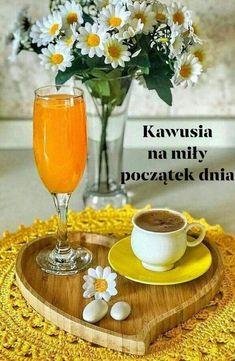 Insta Photo, Alcoholic Drinks, Table Decorations, Tableware, Food, Polish, Good Morning Friends, Memoirs, Thursday
