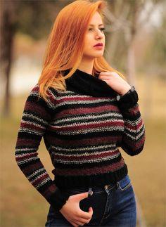 Bayan Triko Boğazlı Renkli Iı   Modelleri ve Uygun Fiyat Avantajıyla   Modabenle