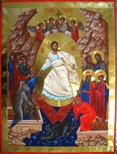 Radoslav Hristov (Bulgarian icon artist and master gilder). Byzantine Art, Byzantine Icons, Faith Of Our Fathers, Life Of Christ, Holy Quotes, Jesus, Catholic Saints, Orthodox Icons, Sacred Art