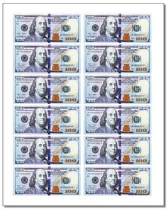 Printable play money, both currency and coins! These free printable PDF files are great classroom manipulatives for learning about money, or they make more realistic replacements for board games! Fake Money Printable, Free Printable, 1000 Dollar Bill, 100 Dollar, Play Money Template, Monopoly Money, Dollar Money, Dollar Bills, Teaching Money