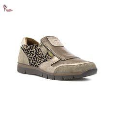 925667b57529 Lotus - Chaussure détente à enfiler bronze femme Lotus - Taille 4 UK   37  EU - multicolore  Amazon.fr  Chaussures et Sacs