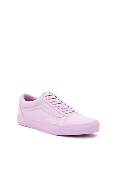 Vans for Opening Ceremony, OG Old Skool LX Sneaker NOTE: Enjoy free ground shipping on all full price Vans, Vans Vault, and Vans for OC products. Sale items do not apply.These EXCLUSIVE Vault by Vans OG Old Skool sneakers are made from a super-soft premium leather and reimagined in a monochromatic lilac hue., Unisex, US men's sizing, Soft premium leather upper, Signature logo stripe, Lace-up front, Padded collar, Canvas lining, Original waffle rubber outsole, Imported