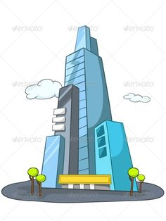 Cartoon Skyscraper  #GraphicRiver         Cartoon Illustration Skyscraper Isolated on White Background. Vector.     Created: 16June13 GraphicsFilesIncluded: JPGImage #VectorEPS Layered: Yes MinimumAdobeCSVersion: CS Tags: architectural #architecture #building #business #cartoon #city #cityscape #color #communications #construction #design #downtown #exterior #future #futuristic #green #home #house #illustration #image #life #office #painting #realestate #skyscraper #structure #style #town…