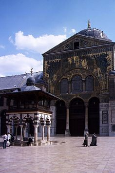 Damas, mosquée des Omeyyades