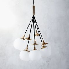 Shop SAIC together pendant light.   SAIC together pendant light was created exclusively for Design Collab.  This CB2 collaborative, now in its second year, brings together like-minded souls and design institutions.  Design Collab No.