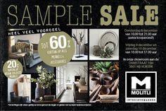 Sample Sale Molitli Interieurmakers -- Nijkerk -- 08/12-10/12