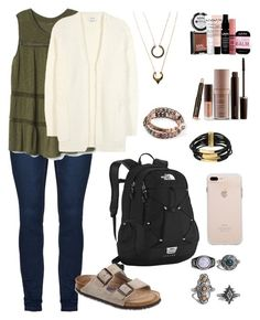 I really wanna go to college by sapienzasophie on Polyvore featuring polyvore, fashion, style, Acne Studios, Gap, Birkenstock, The North Face, Kenneth Cole, Boohoo, WithChic, NYX, Laura Mercier and clothing