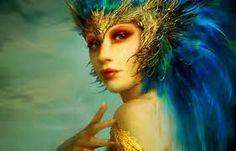 Znalezione obrazy dla zapytania woman fantasy sexy hair