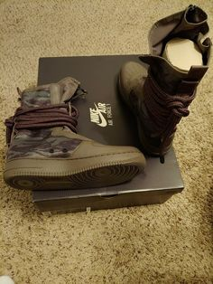 new arrival 36cfb 84d9d Nike SF AF1 Hi Ridge Rock Special Air Force 1 High Size 10  fashion