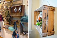 Möbel aus Europaletten basteln DIY wanddekoration