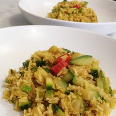 Riso basmati (e non solo) curry e zucchine (photo credit @elis1978)