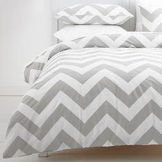 Coby Quilt Cover Set - Grey/White   Target Australia