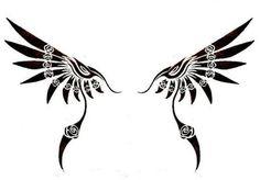 tribal wing tattoo designs - Google 搜尋