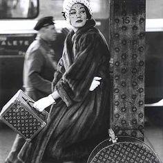 Henry Clarke 1954. Vintage Louis Vuitton.