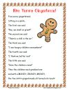 FREE ~ Five Yummy Gingerbread Poem & Roll and Graph product from Toadally-Tots on TeachersNotebook.com