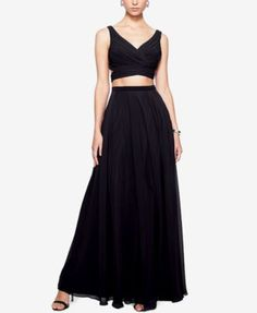 Fame and Partners 2-Pc. Halter Dress | macys.com $282