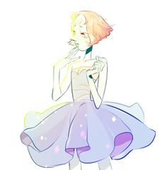 Ready for Rock Prom     Pearl     Steven Universe Fan Art by frenchfrycoolguy on Tumblr