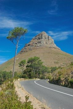 Lion's Head in Cape Town, South Africa ~ we had a wonderful hike nearly to the top of this mountain; scenic views of Cape Town in all directions Places To Travel, Places To See, Places Around The World, Around The Worlds, Le Cap, Cape Town South Africa, Belle Villa, Out Of Africa, Destinations