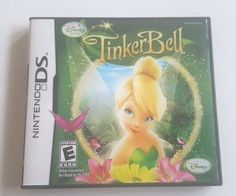 Nintendo DS Dsi Dsl Game Disney Fairies TINKERBELL Fun mini Games and Fashion