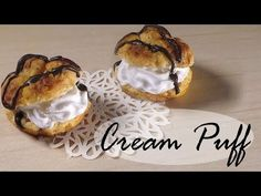 Simple Polymer Clay Cake Roll - Miniature Food Tutorial - YouTube