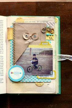 Happy Little Moments Book- First Ride by Veronica_Milan at @Studio_Calico
