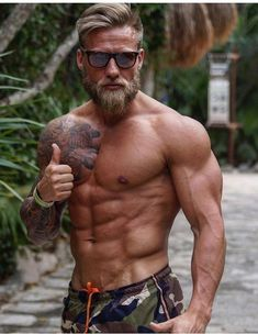 Yeiii hombre musculoso